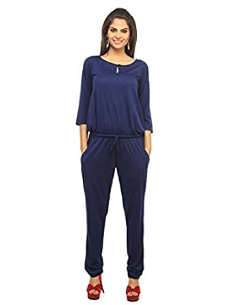 Cottinfab Women's Full Length Jumpsuit