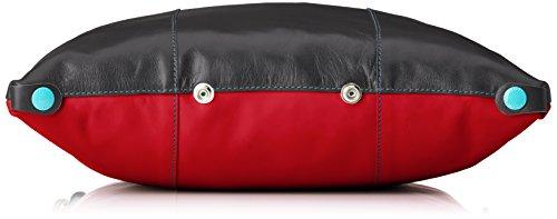 Gabs & Gabs Studio Sofia, Sacs portés épaule Multicolore - Mehrfarbig (grigio+rosso)