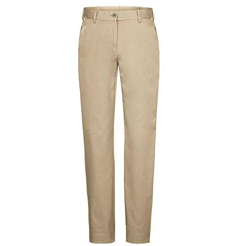 Greiff Damen-Chino Casual, Stretch, 1328, beige, Größe 38