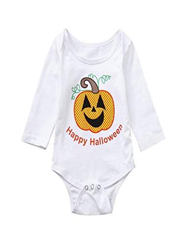 Yesmile Kinder Halloween Kleidung 1PC Neugeborenes Infant Baby Jungen Mädchen Bodysuit Langarm...