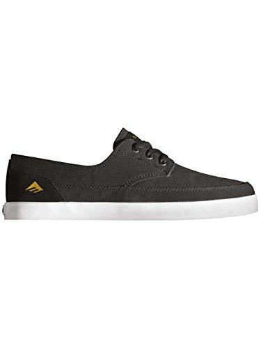 Emerica - The Troubadour Low, Scarpe da skateboard da uomo Black/White