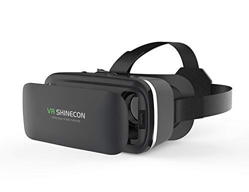 TANG 3D VR Headset, Universal 3D VR Brille Einstellbar Brille Video Movie Game Brille Virtual 3D...