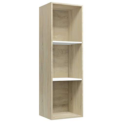 vidaXL Estantería Librería Convertible Mueble TV Estante Libros ...