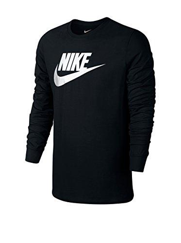 nike-tee-futura-icon-ls-t-shirt-fur-herren-schwarz-black-white-l