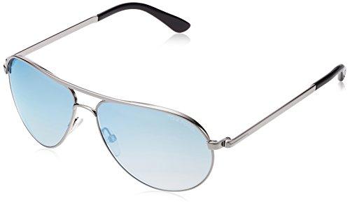 Tom ford occhiali da sole ft0144_met 140_14x (58 mm) metal, 58