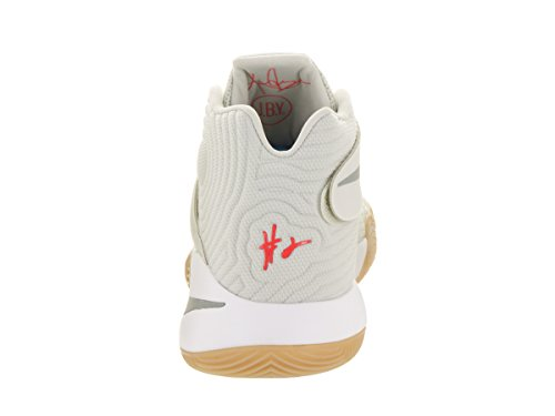 Nike Kyrie 2, Chaussures de Sport-Basketball Homme, 41 EU Beige (Beige (light bone/reflect silver-white))