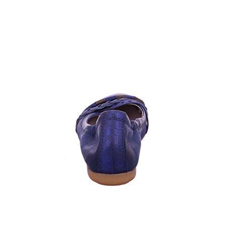 MJUS Damen Ballerina 670755 petrolio/blau
