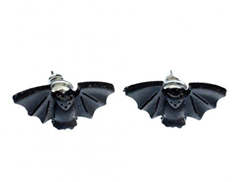 r Miniblings Stecker Tier Vampir Halloween Dracula Flughund ()