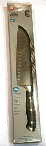 "Richardsons à Sheffield,""V"" Sabatier""Chef cuisinier"" 17,5 Santoku Couteau."