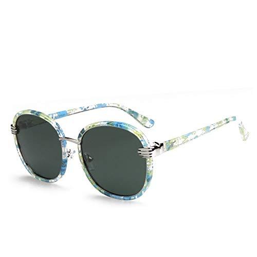 YFFSS Herrenmode Fahren Polarisierte Sonnenbrille Herren- und Damenbrille Uv400-Schutz Klassische polarisierte Sonnenbrille (Farbe : D)