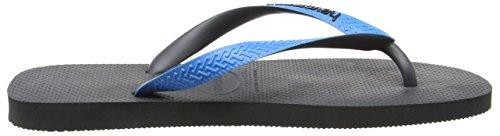 Havaianas - Top Mix - Flip Flops - Unisexe Multicolore Gris (Gris)/Bleu (Turquoise 9482)