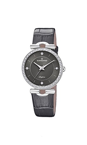 Candino Womens Analogue Classic Quartz Watch with Leather Strap C4672/3
