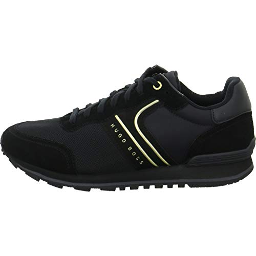 BOSS Parkour Runn Nymx Herren Sneaker Schwarz (Hugo Boss Schuhe Herren Schwarz)