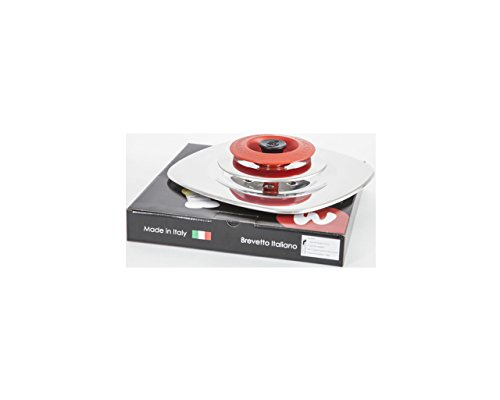 MAGIC COOKER Coperchio Quadrato 30 cm - Rosso
