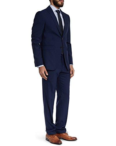 BARUTTI Anzug, Slim-Fit, Savino/Sodio blau in 106 (Anzug Wolle 2-knopf-italienischer)