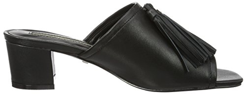 Buffalo 316-3687 Sheep Leather, Sandales  Femme Noir (Black 01)