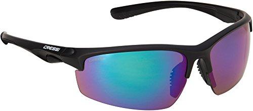 Cressi rocky occhiali da sole, unisex - adulto, rocky, verde, uni