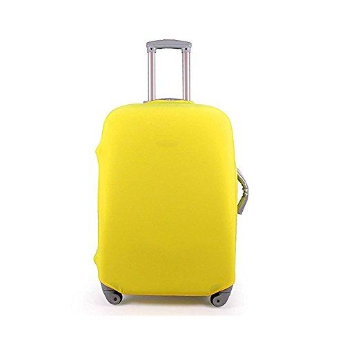 Gepäck Koffer Schutzhülle hellodigi Baumwolle drucken Elastic staubdicht Gelb Yellow M m (Baumwolle-gepäck-set)
