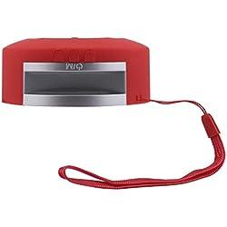 Mini Enceinte Bluetooth Portable Haut-Parleur Bluetooth sans Fil Lecteur MP3 Stéréo Fort, Rich Bass Port USB Carte TF FM Compatible avec Téléphone Android iOS et Tablettes