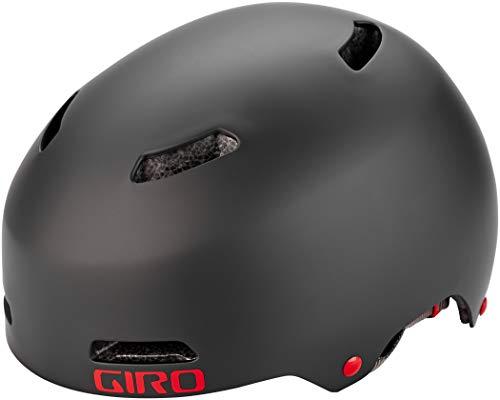 Giro Quarter FS BMX Dirt Fahrrad Helm schwarz/rot 2019: Größe: M (55-59cm)