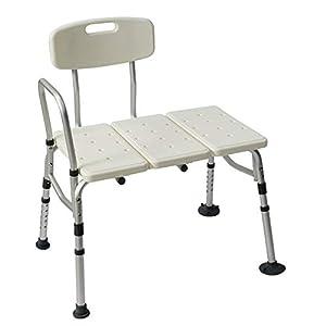 Badewannentransferbank, Verstellbarer Handicap-Duschstuhl, Hilfsmittel Für Das Medizinische Badezimmer Für Ältere Schwangere Frauen