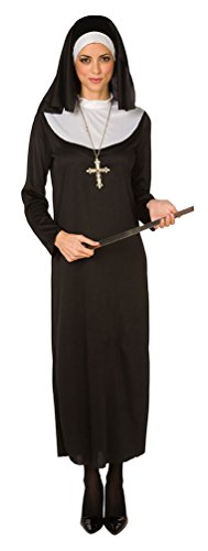 ,Karneval Klamotten' Kostüm Nonne Dame Karneval Religion Damenkostüm Größe (Kostüme Religion Themen)