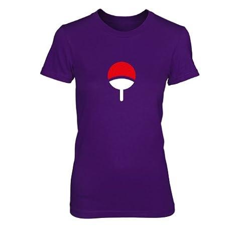 Familie Uchiha - Damen T-Shirt, Größe: XL, Farbe: lila