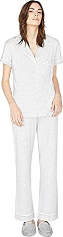 UGG Women's Reece Pajama Set Seal Heather - Medium