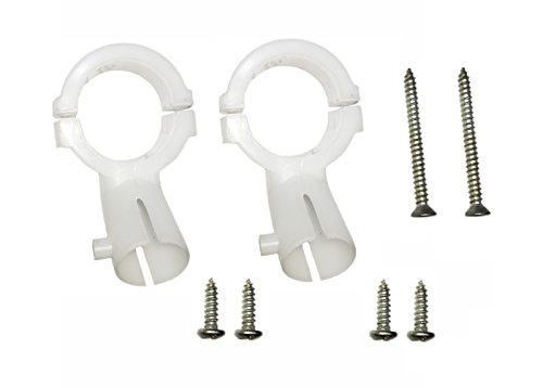 Ku LNB Holder for dth Dish Antenna 2 pcs For Round Mounting 25mm  available at amazon for Rs.110
