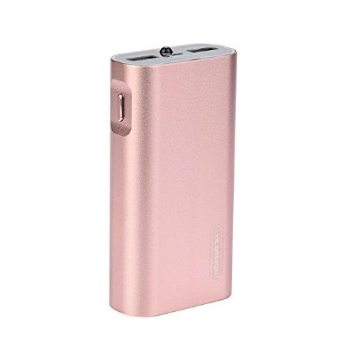 Winkey Power Bank, Aluminium Legierung 8800mAh Tragbar USB Externer Akku Ladegerät Power Bank für Handy