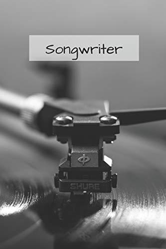 Notizbuch für Songwriter: Notebook / Tagebuch für deine Songtexte | 120 Seiten a5+