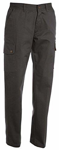 Pantaloni Da Lavoro Donna Elasticizzato Con Tasche Laterali Payper Forest Stretch Lady, Colore: Smoke, Taglia: 44