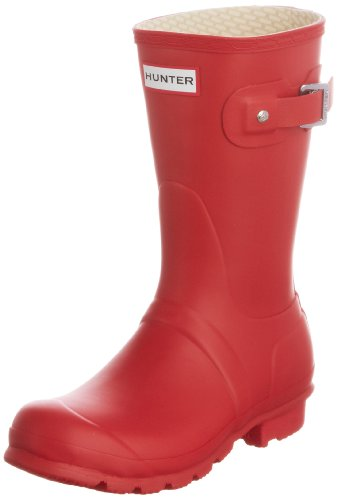 Hunter -Adult Original Short, Boots mixte adulte Rouge