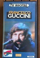 "Preisvergleich Produktbild FRANCESCO GUCCINI ""TV RECITAL"" (VHS)"