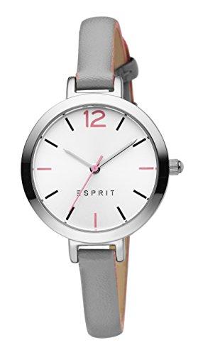 Esprit Damen Analog Quarz Uhr mit Leder Armband ES906712002