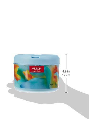 Milton Brunch Maxx Plastic Lunch Box, 900ml, Multicolour