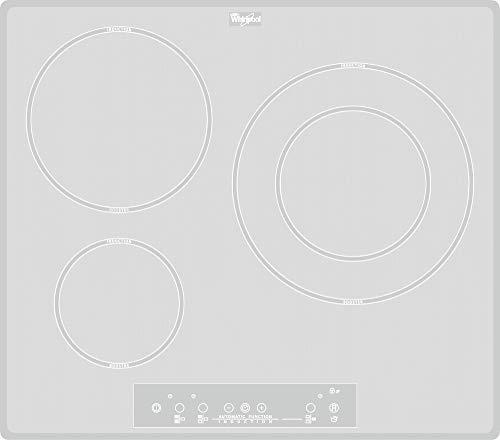 Whirlpool ACM 680/NE/WH plaque Intégré Plaque avec zone à induction Blanc - Plaques (Intégré, Plaque avec zone à induction, Verre, Blanc, Tactil, Numérique)