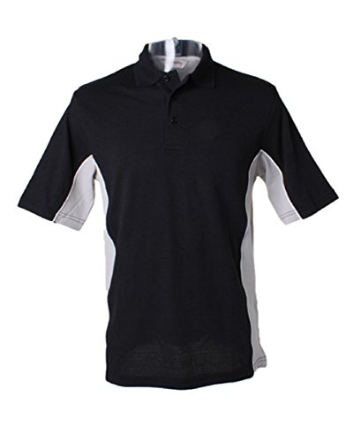 GamegearDamen Poloshirt Schwarz - Black/Grey