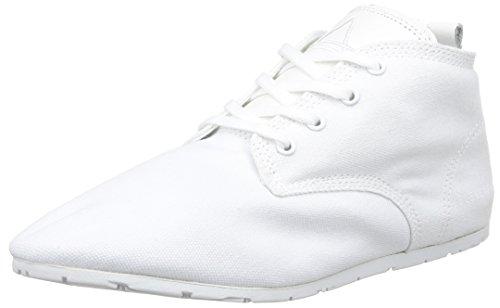 Eleven Paris Baswhite, Baskets mode mixte adulte Blanc (White)