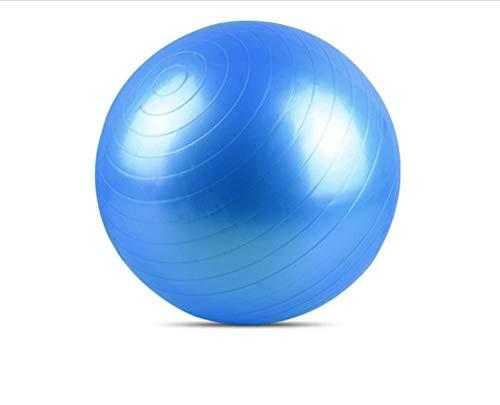 und Gleichgewichtsball 55 cm, 65 cm, 75 cm. Perfekt für Yoga im Klassenzimmer, Pilates, Bauch, Rumpf, Training, Fitness, Pro Workout, Training, Geburt, Pr @ Blue_65 cm ()