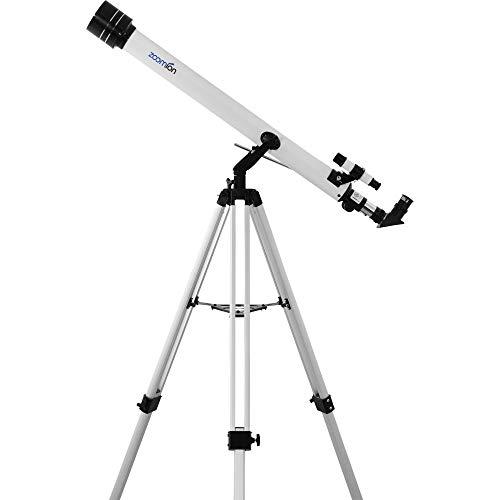 Zoomion Teleskop Viking 60 AZ, Linsen-Fernrohr für die Astronomie mit 60mm Öffnung und 900mm Brennweite
