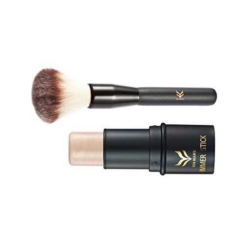 MagiDeal Set Of Multi Dimensional Sculpted Look Waterproof Long Lasting Highlight Contour Stick With Cosmetic Brush #2