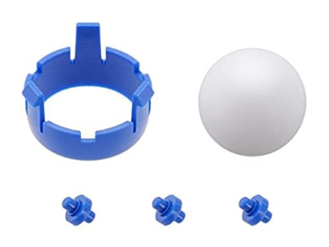 POLOLU-3536 Romi Chassis Ball Caster Kit - Blue / uk stock POLOLU