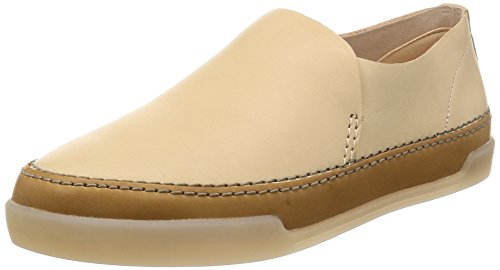 Clarks Damen Hidi Hope Slipper, Beige (Nude Leather), 38 EU