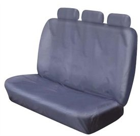XtremeAuto© REAR TRIPLE GREY BENCH SEAT COVERS FOR MAZDA B2500