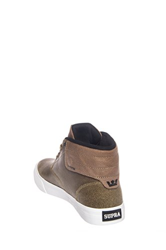 Supra Passion, Baskets hautes mixte adulte Camel - white