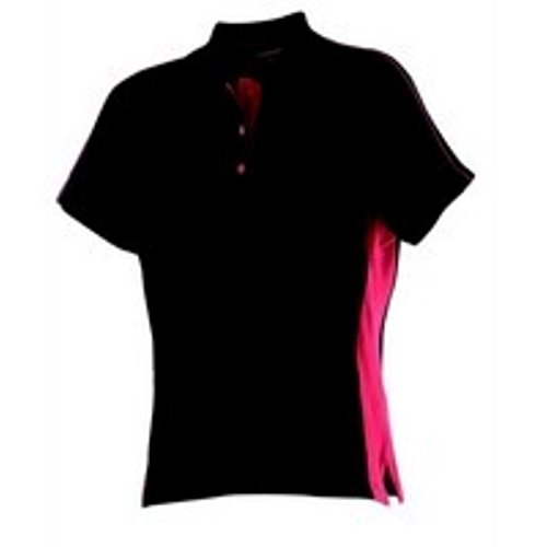 Finden & Hales -  Polo  - Donna Black/ Red