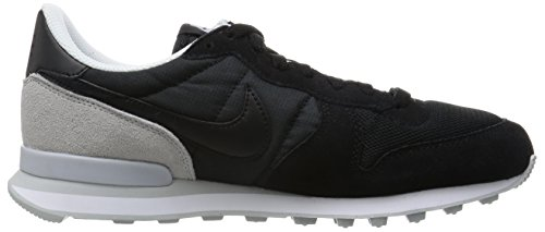 Nike Uomo Internationalist scarpe sportive Nero (Schwarz/pure Platinum)