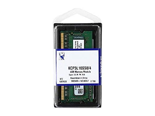 Kingston KCP3L16SS8/4 - Memoria RAM portátil 4 GB