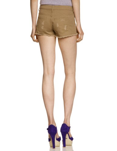 PIECES Damen Short 17048637/FUNKY ASTA MULTI BOX Grün (KHAKI GREEN)